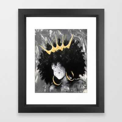 Naturally Queen III Framed Art Print - Society6