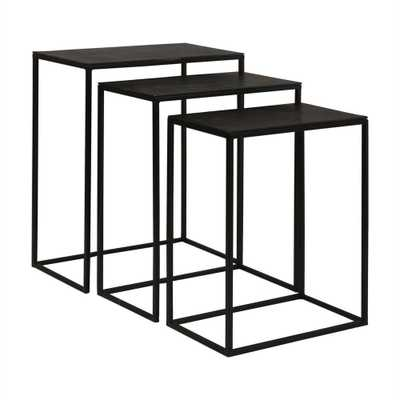 Coreene, Nesting Tables, S/3 - Hudsonhill Foundry