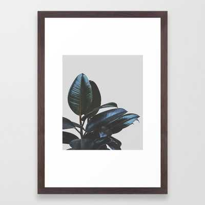 Botanical Art V4 Framed Art Print by 83Oranges 26x38 - Society6