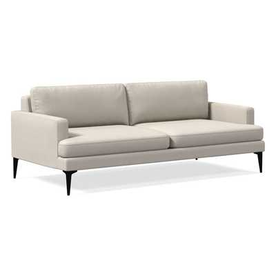 """Andes Sofa (86"""") Stone White - West Elm"""