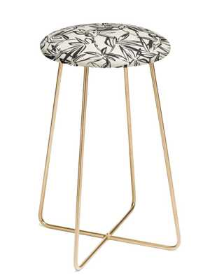 UNGLIA CHARCOAL Counter Stool By Holli Zollinger - Wander Print Co.