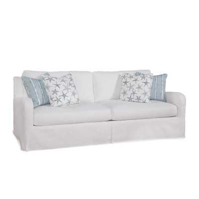 "Halsey 91"" Square Arm Sofa - Wayfair"