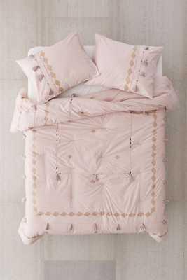 Eliza Border Trim Comforter - Full/Queen - Urban Outfitters