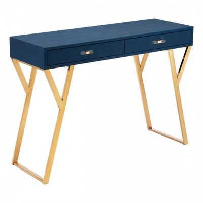Asti Console Table Navy Blue - Zuri Studios