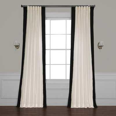 Winsor Semi-Sheer Rod Pocket Single Curtain Panel - Wayfair