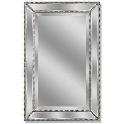Beveled Beaded Accent Wall Mirror - Wayfair