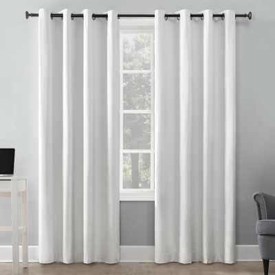 Duran Insulated Max Blackout Thermal Grommet Single Curtain Panel 63 - Wayfair