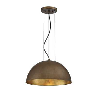 Industrial Dome Shade Pendant - Small - Shades of Light