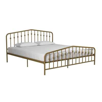 Bushwick Platform Bed Gold - Wayfair
