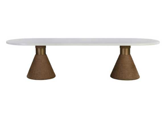 Adelynn Natural Rope Table - Maren Home