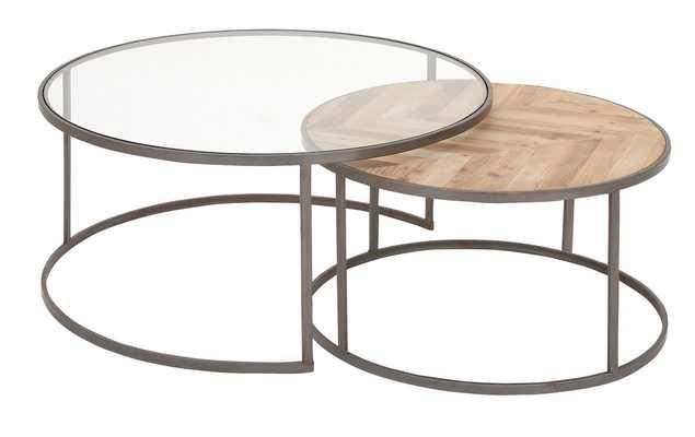 Orkney Contemporary 2 Piece Coffee Table Set - Wayfair