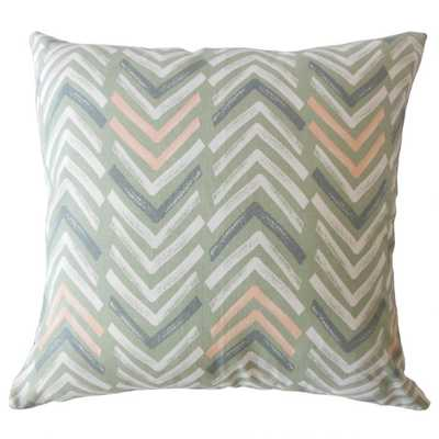 BAREND GEOMETRIC PILLOW SUNDOWN - Linen & Seam