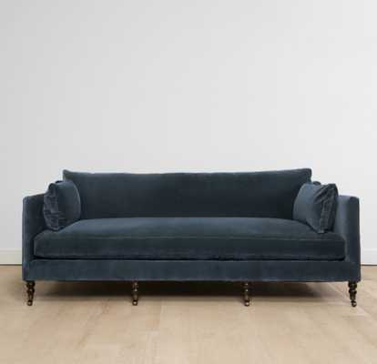 FABIENNE VELVET SOFA, BLUE - Lulu and Georgia