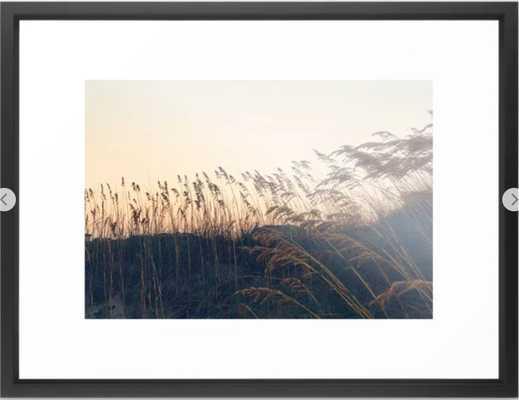 """Boho Bliss Framed Art Print - 20"""" x 26"""", vector black frame - Society6"""