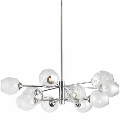 Cassana 12-Light Sputnik Modern Linear Chandelier - Wayfair