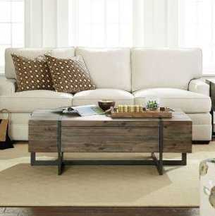 Simone Coffee Table with Storage - Wayfair