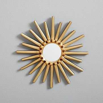 "Peruvian Wall Mirror, 12"" Starburst - West Elm"