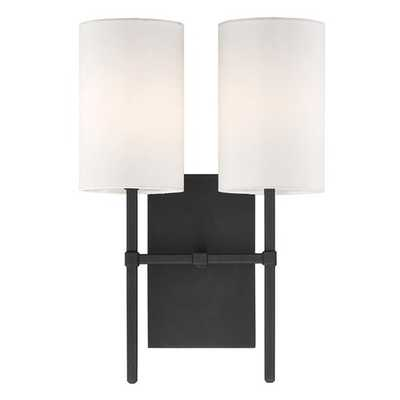 ELEGANT MINIMALIST SCONCE - 2 LIGHT - Shades of Light