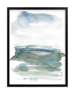ocean landscape-sea green - Minted