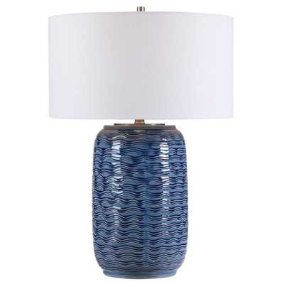 Sedna Blue Table Lamp - Hudsonhill Foundry