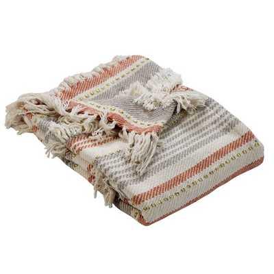 Saundra Soft Over-Tufted Cotton Throw - Wayfair