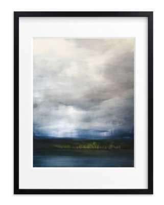 Rain and Light Framed Print - 18x24, Black Frame, Matted - Minted