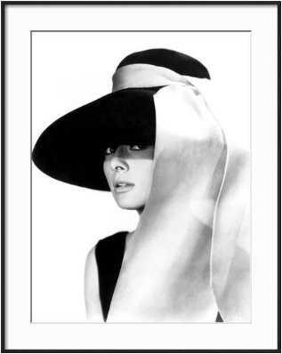 Breakfast at Tiffany's, Audrey Hepburn, 1961; Framed Print - art.com