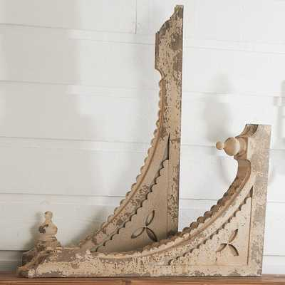 DISTRESSED RUSTIC CORBEL - SET OF TWO - Shades of Light