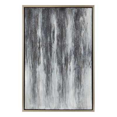 Leondra Framed Oil Painting - Mercer Collection