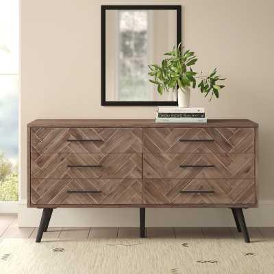 Keziah 6 Drawer Double Dresser - AllModern