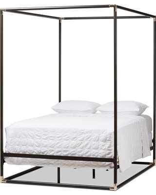 Baxton Studio Eva Canopy Queen Bed - Hayneedle