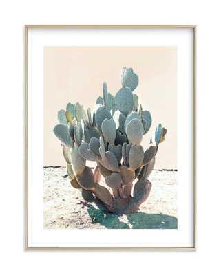 "Blue Cactus - 8"" x 10"" - Minted"