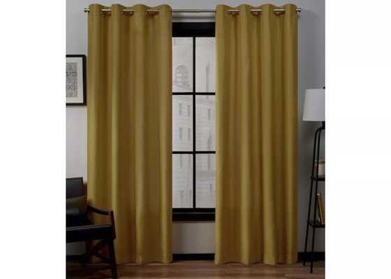 Loha Linen Window Curtain Panel Pair - Exclusive Home™ - Target