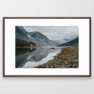 Norway I - Landscape and Nature Photography Framed Art Print - Society6