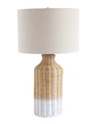 "Choy Wicker 27"" Table Lamp - Wayfair"