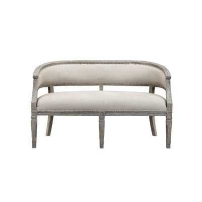 Maily Upholstered Bench - Wayfair