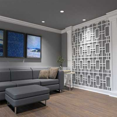 Hastings Architectural Grade PVC Decorative Fretwork Wall Panels - Wayfair