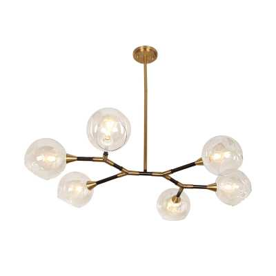 Lomonaco 6 - Light Sputnik Modern Linear Chandelier - Wayfair