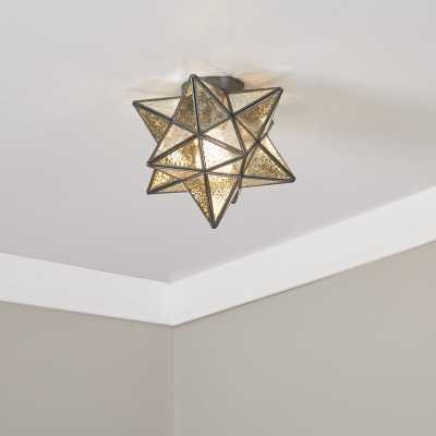 Nikki 1-Light Flush Mount - Wayfair