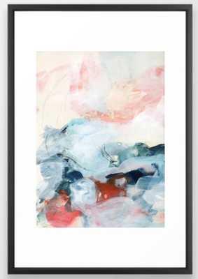 abstract painting III Framed Art Print - Society6