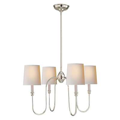 VENDOME SMALL CHANDELIER - POLISHED NICKEL - McGee & Co.