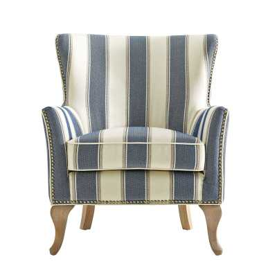 Zubair Wingback Armchair - Birch Lane