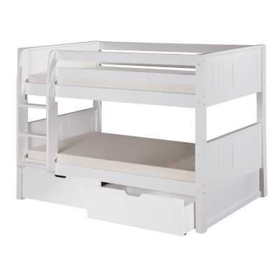 Isabelle Twin over Twin Bunk Bed with Storage - Wayfair