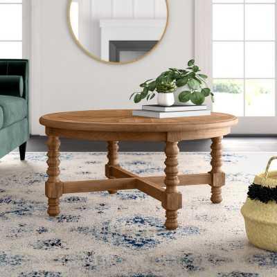Haylie Wooden Coffee Table - Wayfair