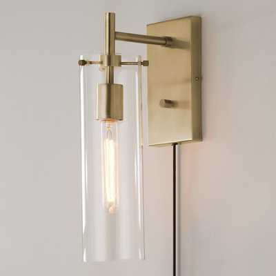 TUBULAR VINTAGE WALL SCONCE - Shades of Light