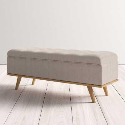 Rick Upholstered Storage Bench - Wayfair