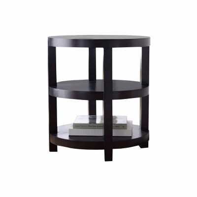 VIEW GALLERY ADAMS MORGAN ROUND END TABLE - Abbyson Living