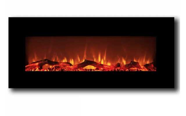 Krish Wall Mounted Electric Fireplace - Wayfair