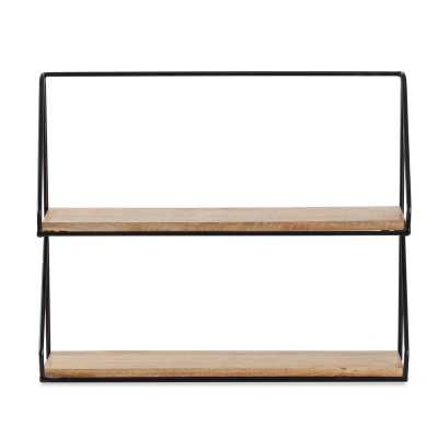 Carlisle 2-Tier Wall Shelf - Wayfair