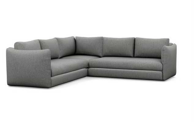 Harper corner sectional sofa - Interior Define